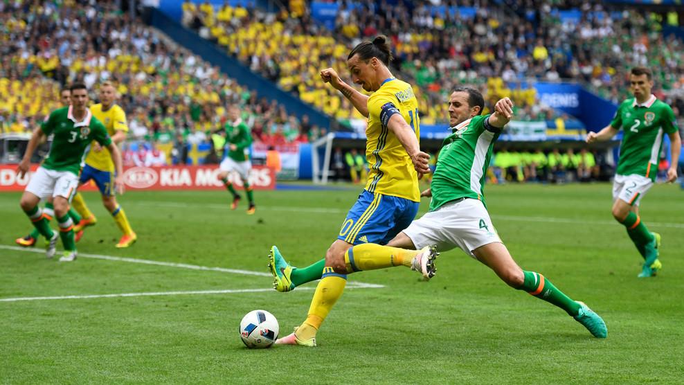 Сборные Ирландии и Швеции сыграли вничью