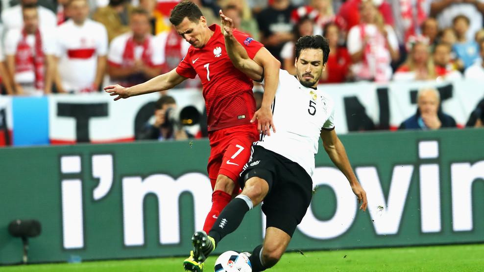 Сборные Германии и Польши сыграли вничью