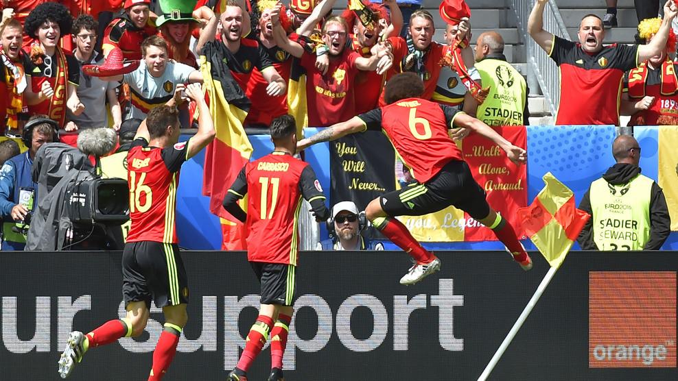 Сборная Бельгии взяла верх над командой Ирландии
