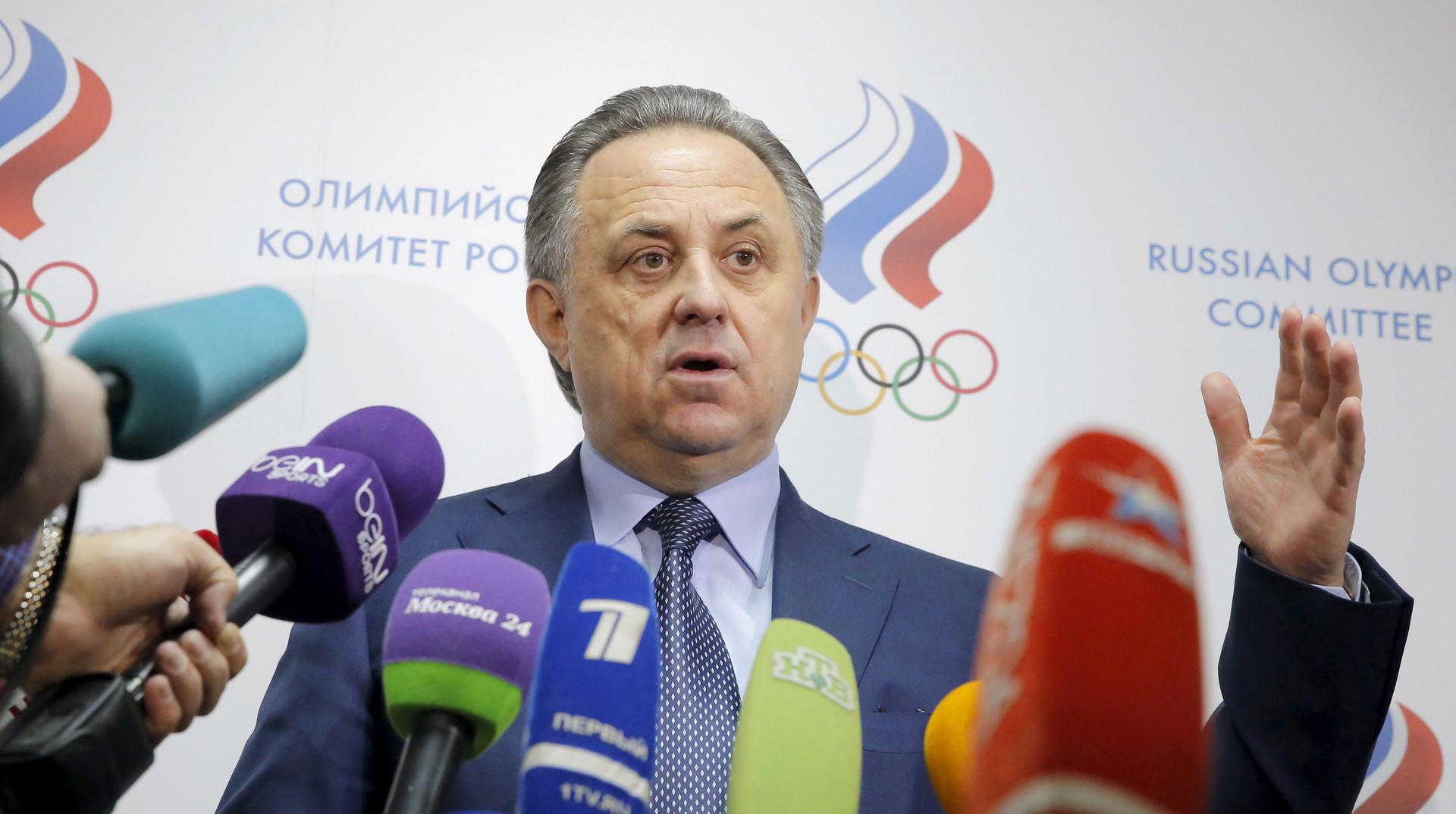 Мутко: Судя по заявлению МОК, у российских атлетов нет шансов на участие в Играх в Рио