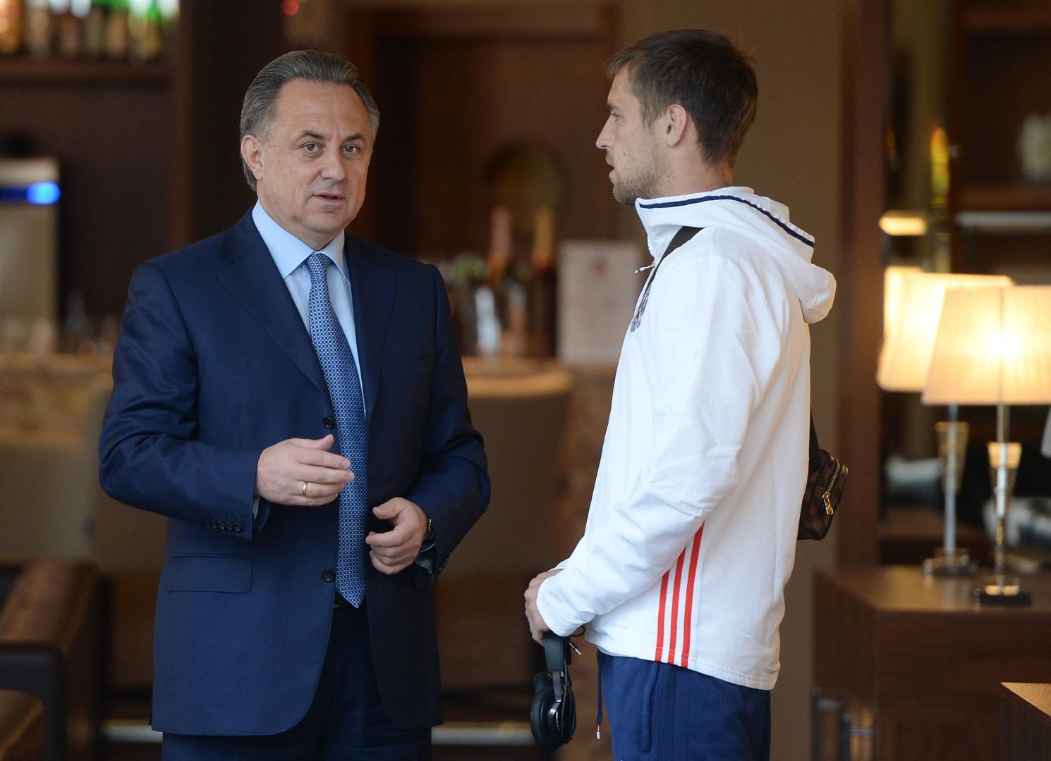 Виталий Мутко: Вокруг сборной России сейчас психоз, от МОК можно ждать любого решения