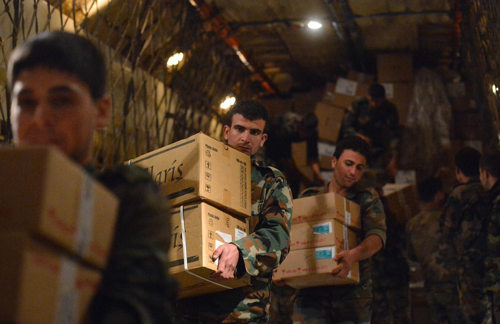 В ООН поблагодарили Россию за содействие в доставке гумпомощи в Сирию