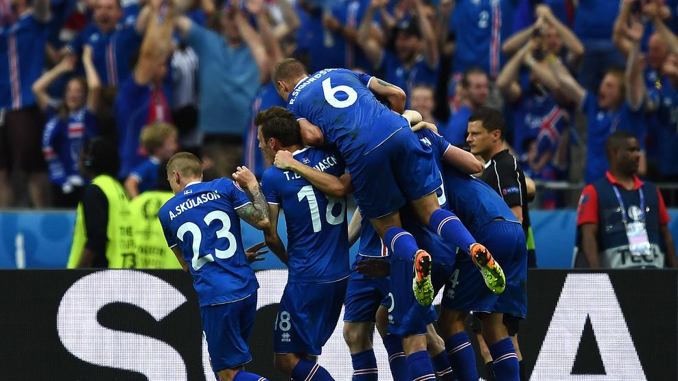 Сборная Исландии выиграла у команды Австрии