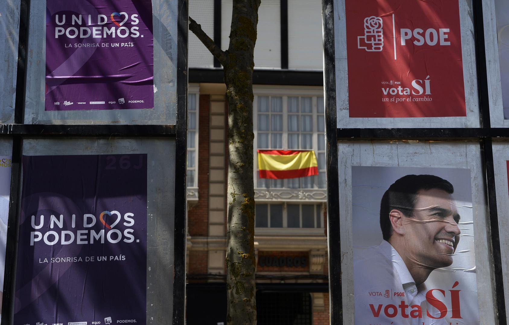 Левые фавориты: в Испании пройдут вторые за полгода парламентские выборы