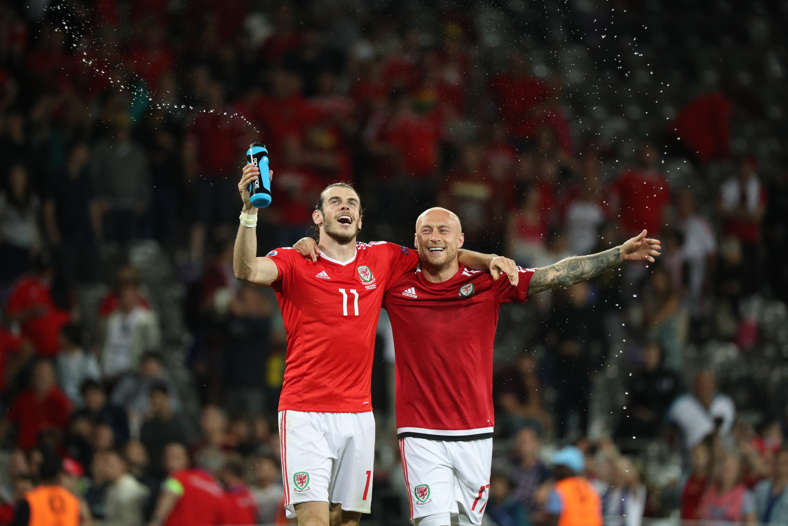 Сборная Уэльса прошла в четвертьфинал Евро-2016