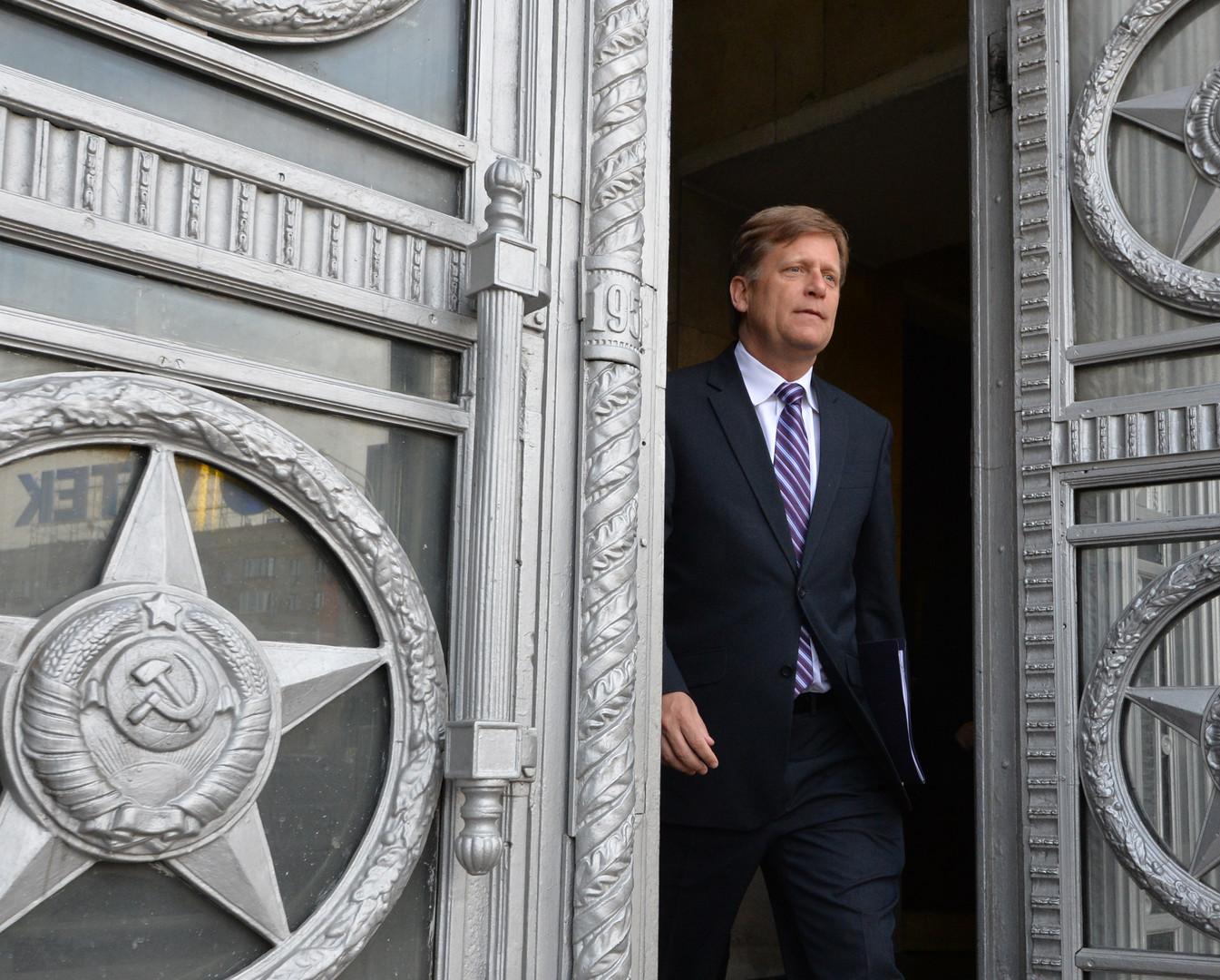 Майкл Макфол объяснил, чем брексит выгоден Владимиру Путину