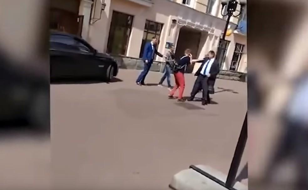 Правоохранители установили участников инцидента с BMW на Арбате