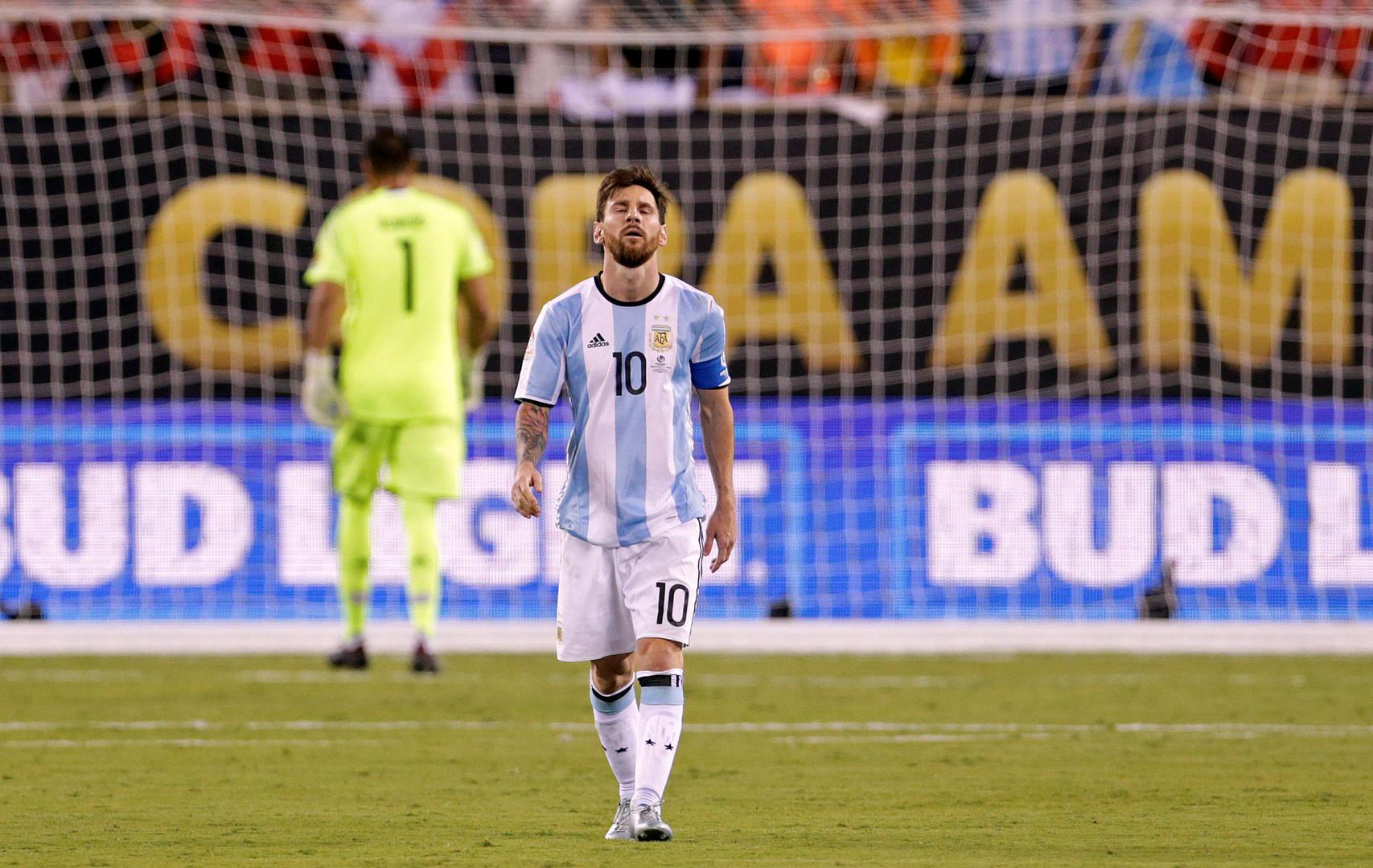 Лионель Месси уходит из сборной Аргентины
