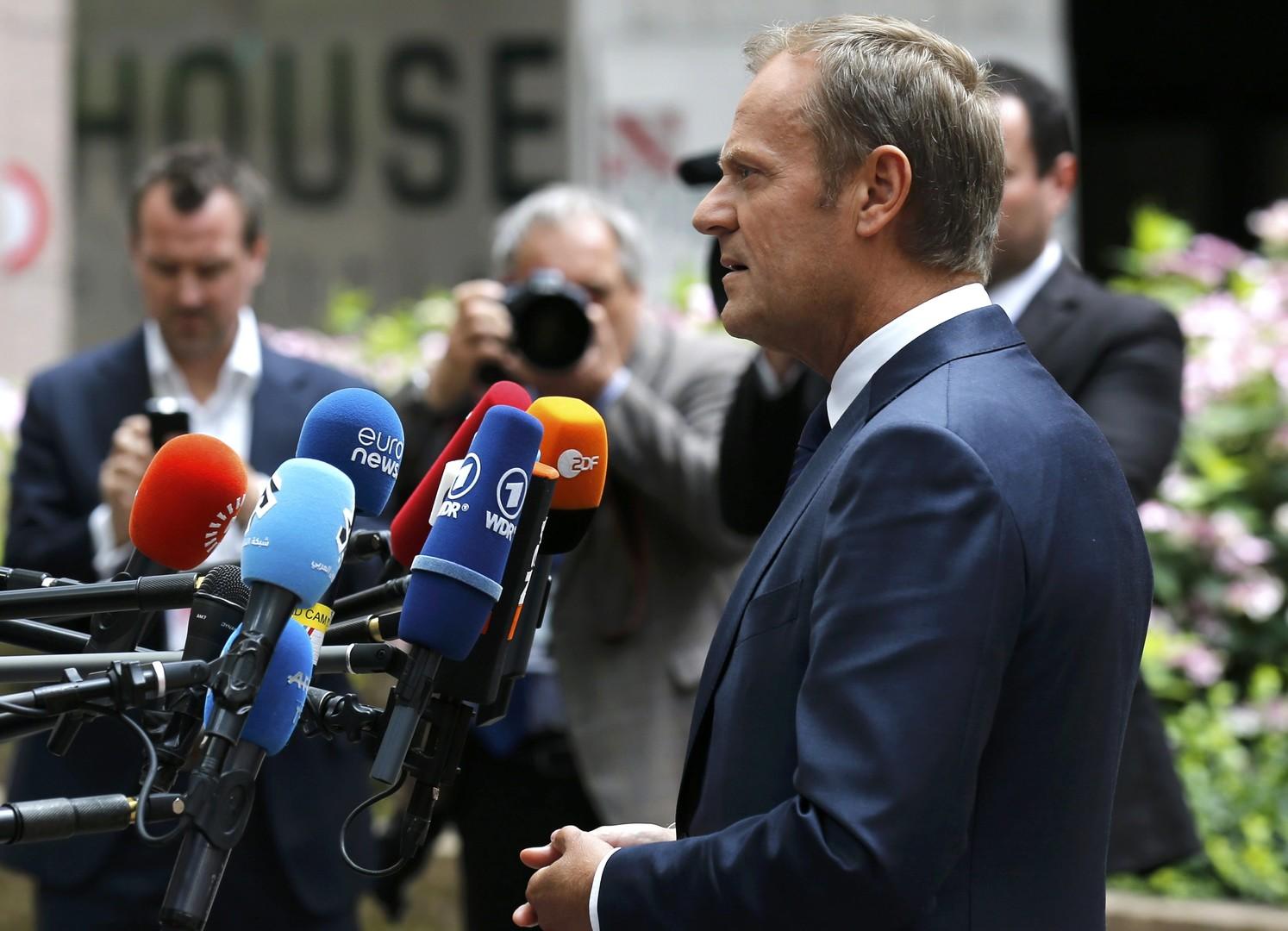 Дональд Туск: ЕС готов немедленно «развестись» с Великобританией