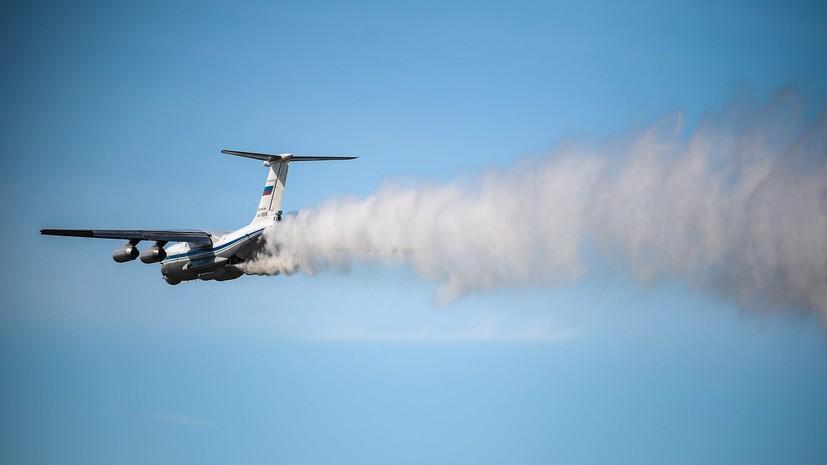 В Иркутской области не выходит на связь самолет МЧС