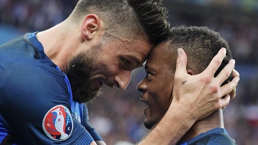 Сборная Франции одолела команду Исландии на ЧЕ со счётом 5:2