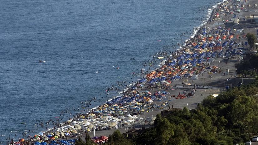 Турция стала самым популярным направлением у туристов из России