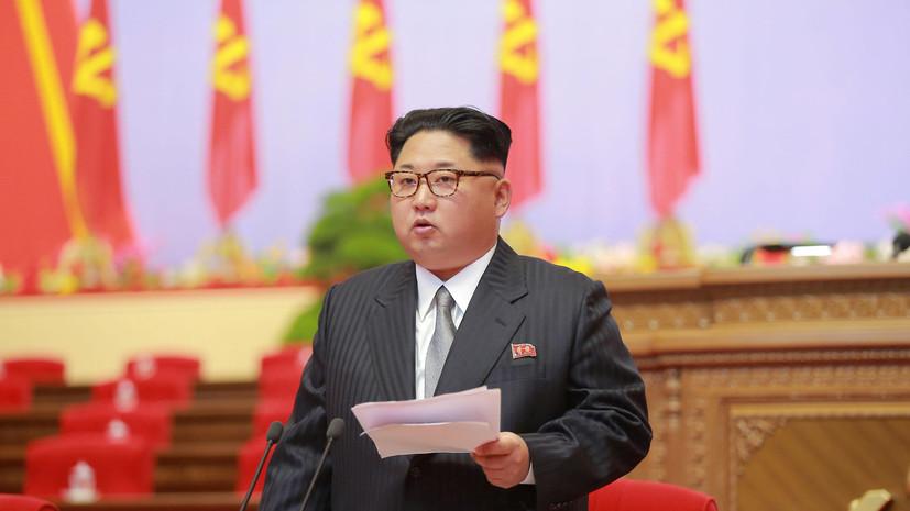 Пхеньян пригрозил США ответными мерами за введение санкций