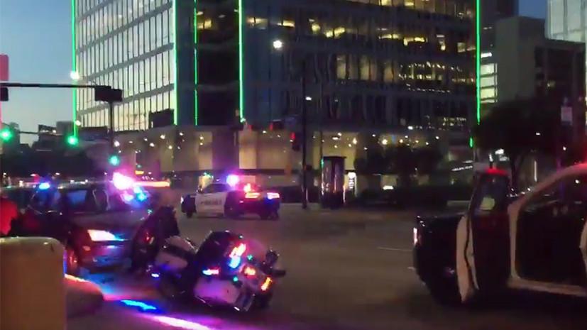Стрельба по полицейским в Далласе - хроника событий