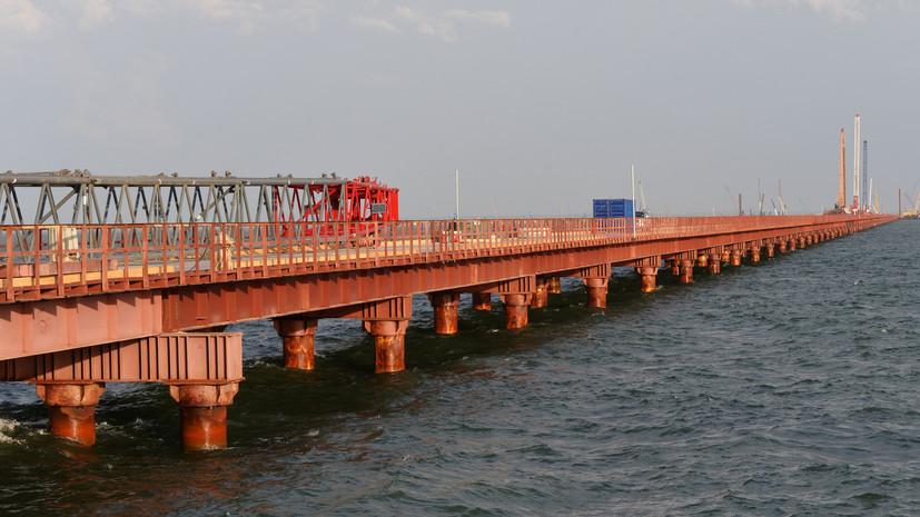Названа итоговая стоимость строительства моста в Крым