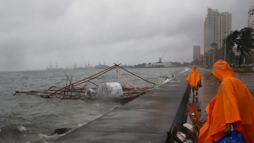 Мощный тайфун «Непартак» обрушился на берега Тайваня