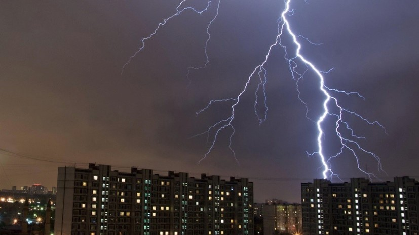 «Прощай, Москва, это апокалипсис»: пользователи соцсетей делятся фотографиями непогоды