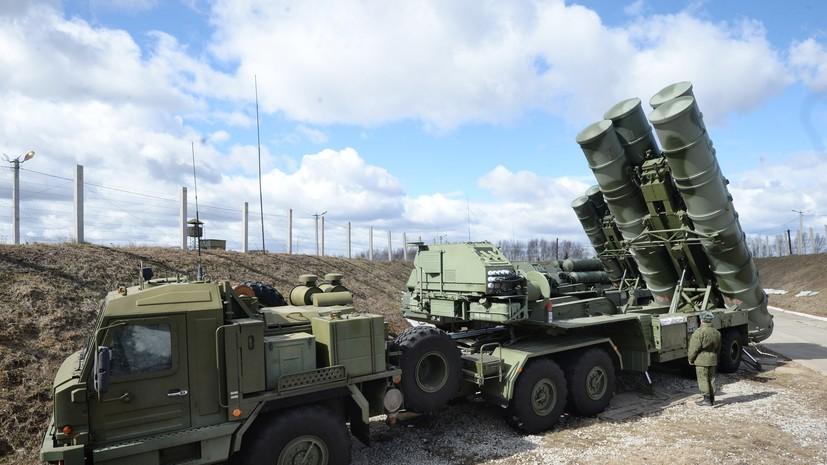 Новый комплект C-400 «Триумф» направят войскам в Крыму в августе этого года
