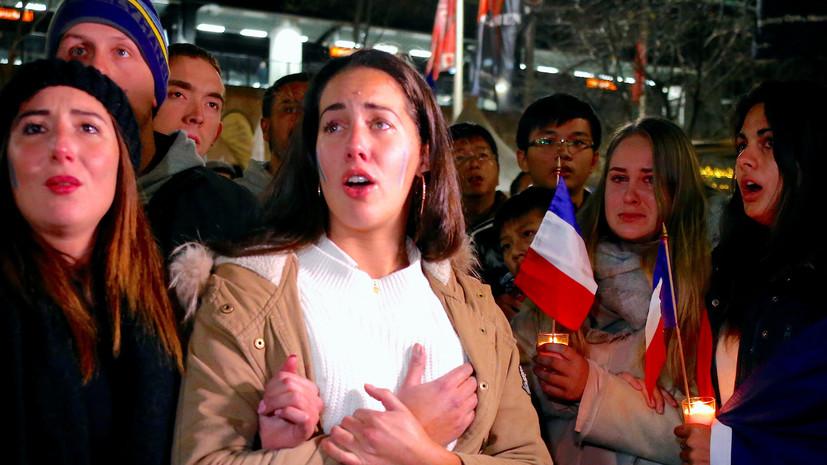 #PrayForNice: мир скорбит по жертвам трагедии в Ницце