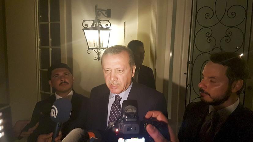 Эрдоган призвал турецкий народ выйти на улицы