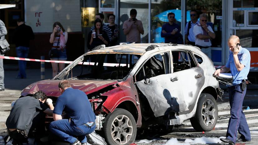 Убийство Павла Шеремета. Реакция политиков и журналистов