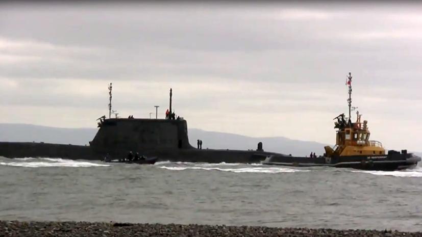 Британская атомная подлодка столкнулась с торговым судном