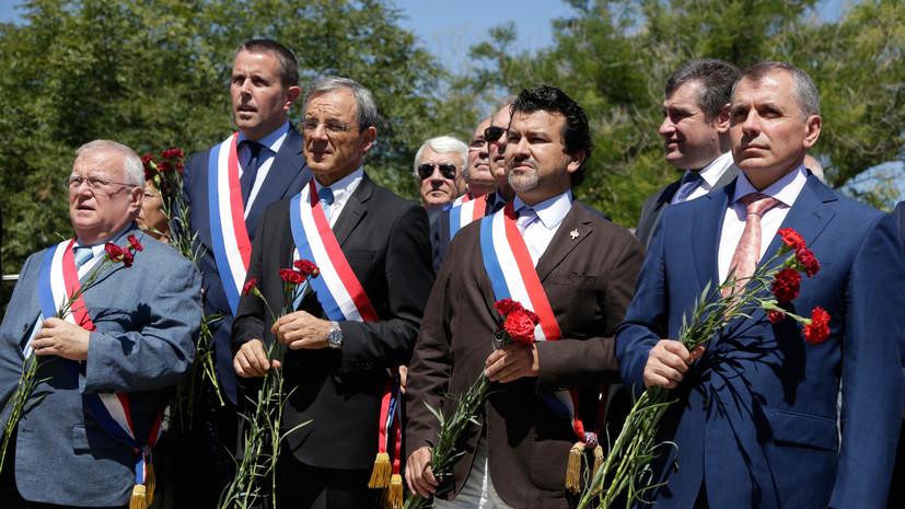 Нужный берег Крыма: французские депутаты обсудят на полуострове развитие связей с Россией