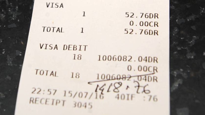 В Великобритании посетитель ресторана случайно заплатил за ужин £1 млн