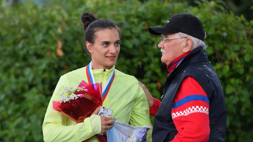 Тренер Исинбаевой — RT: Елене пока не предлагали стать знаменосцем в Рио