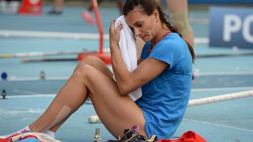Исинбаева сообщила, что IAAF отклонила её заявку на участие в Олимпиаде