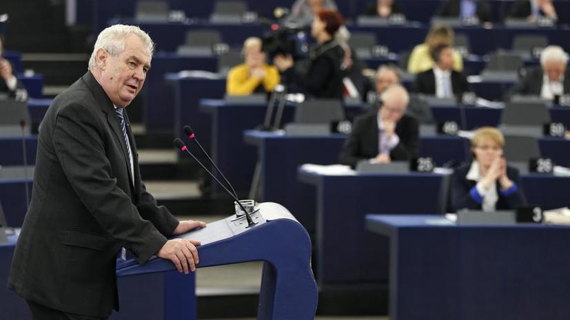 Президент Чехии не исключил новой волны терактов в Европе