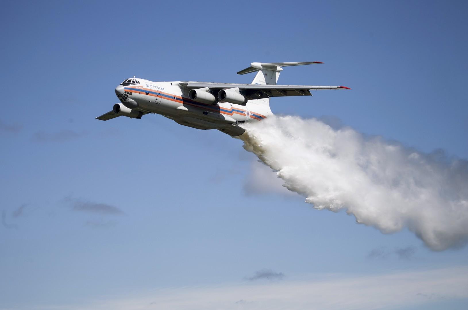 Исчезновение самолёта Ил-76 МЧС РФ — хроника событий