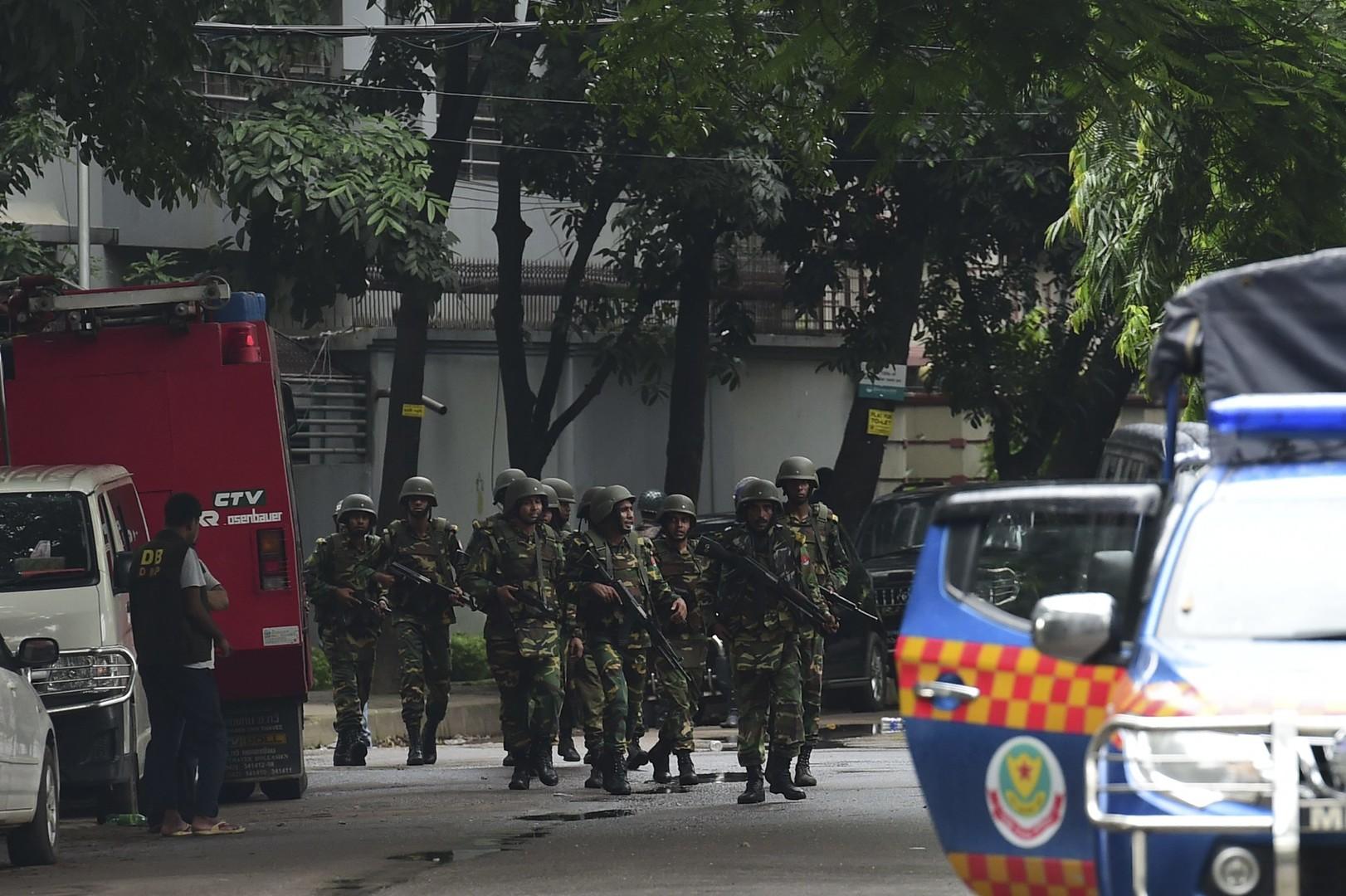 Операция по освобождению заложников в Бангладеш