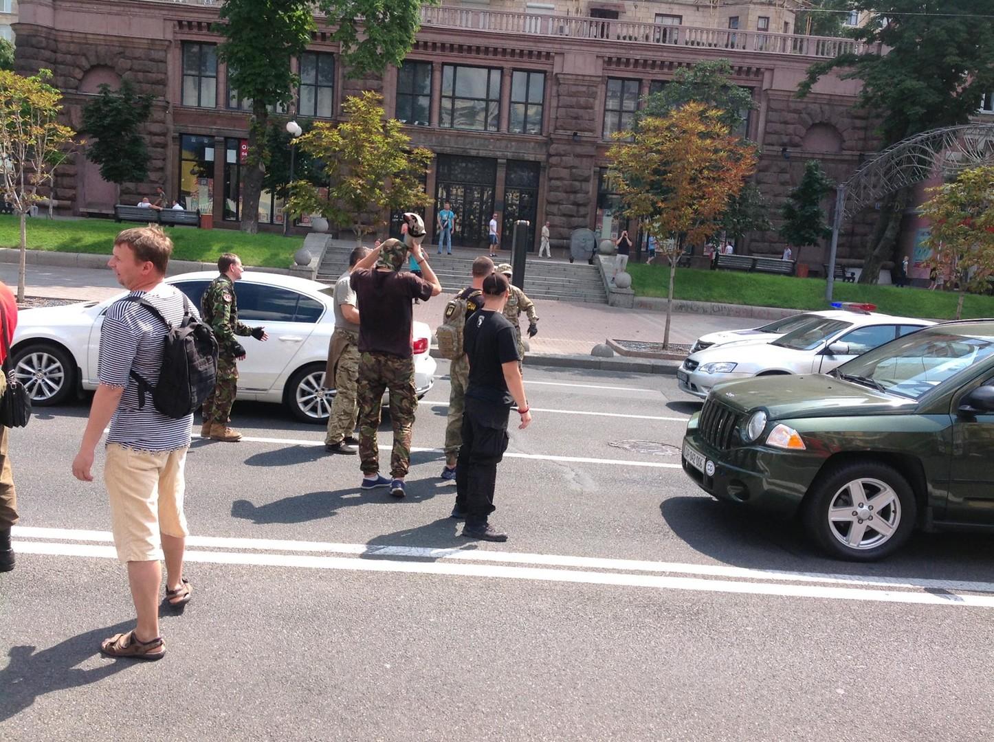 Радикалы вступились за Батю: в центре Киева бунтовали из-за ареста начштаба «Айдара»