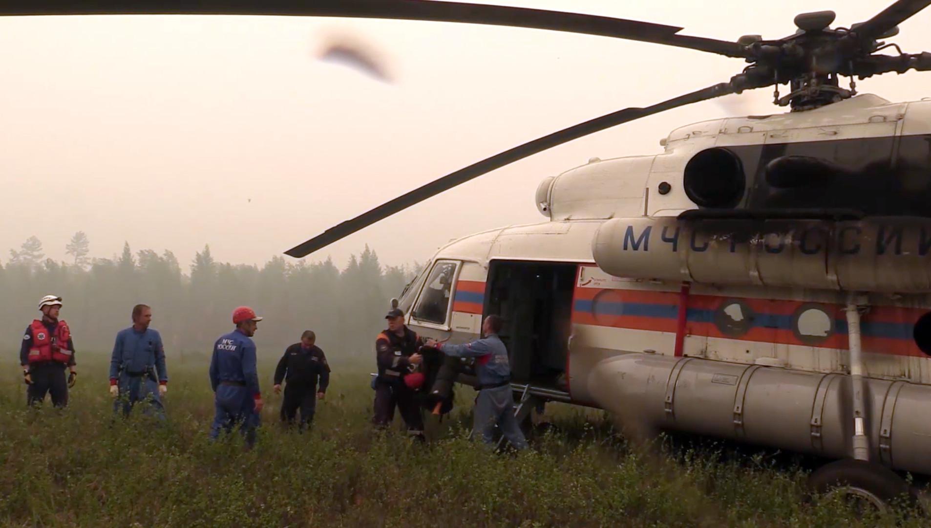 МАК: Все десять членов экипажа разбившегося Ил-76 погибли