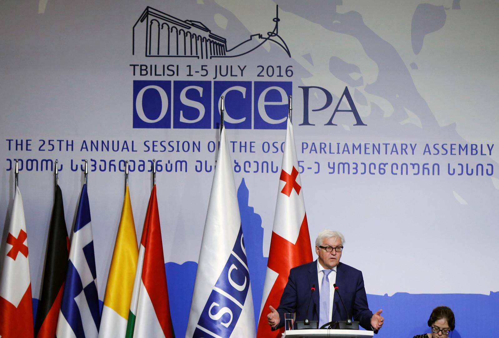 Российская делегация покинула заседание ПА ОБСЕ из-за проекта резолюции Украины по Крыму