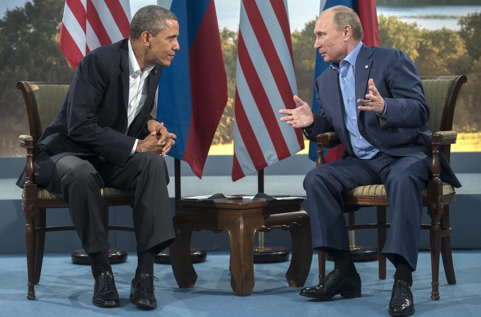 Путин и Обама по телефону договорились о наращивании военной координации по Сирии