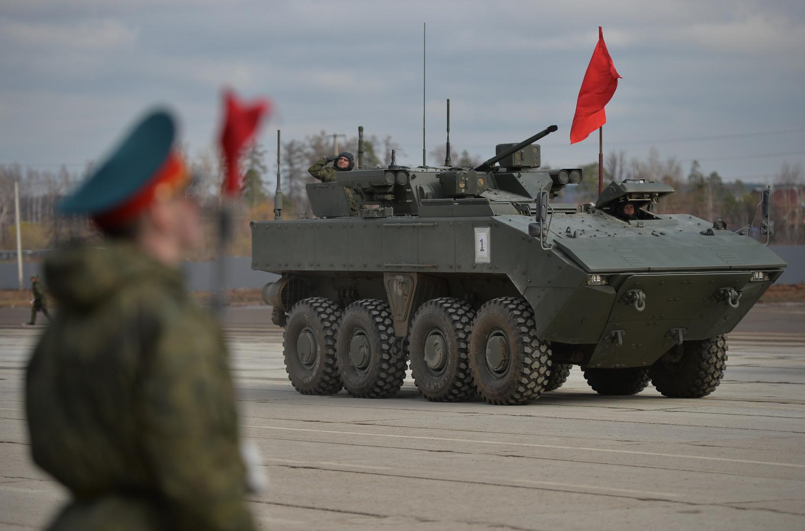 Морская пехота РФ получит на вооружение «Бумеранг»