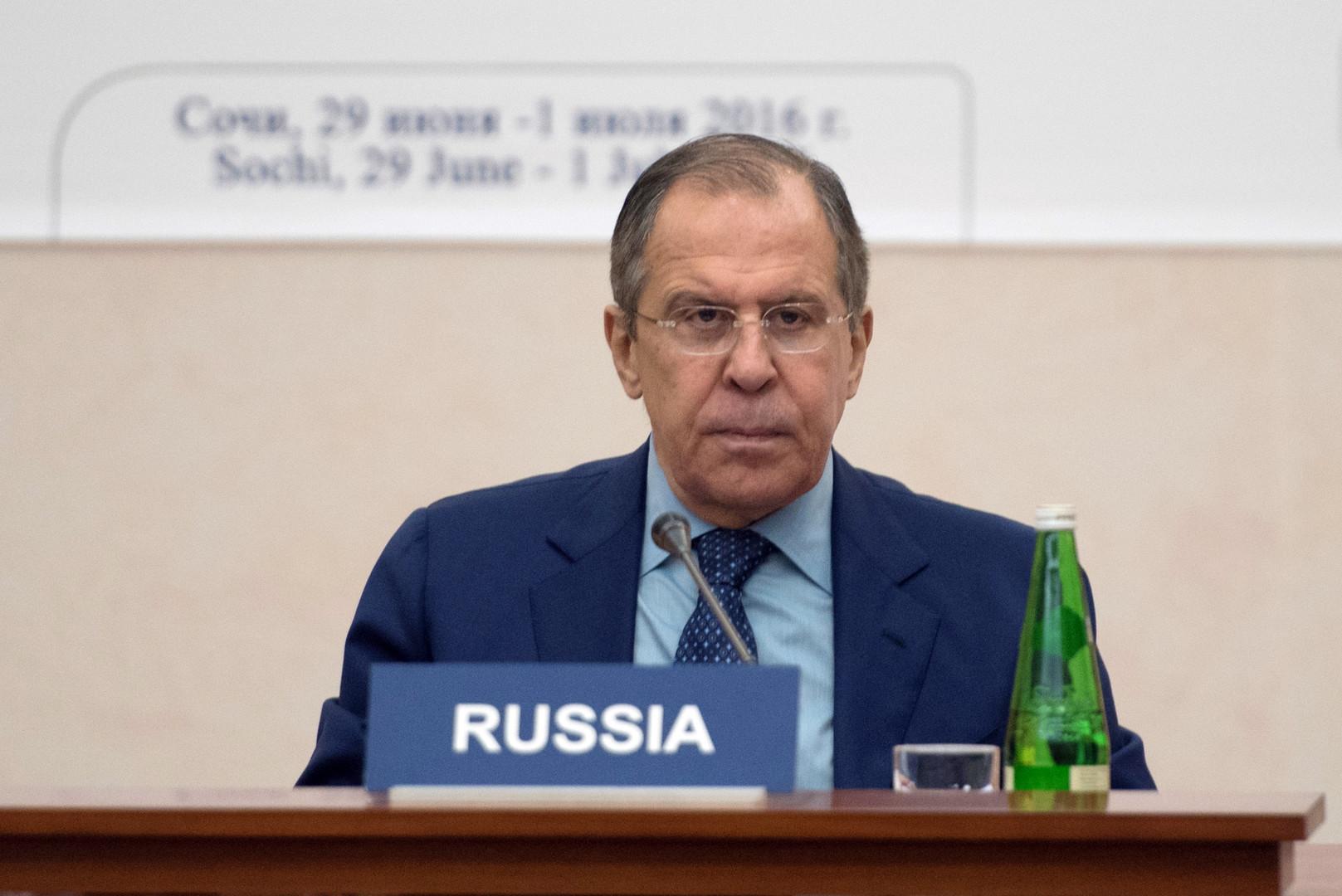 Сергей Лавров: Россия желает услышать от НАТО объяснения решений, принятых в Варшаве