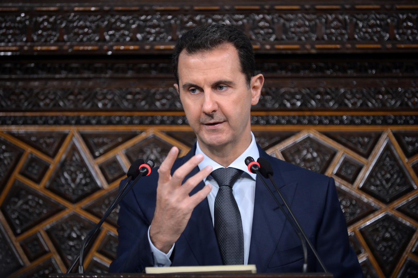 Башар Асад: Надеюсь остаться в истории как защитник Сирии от терроризма