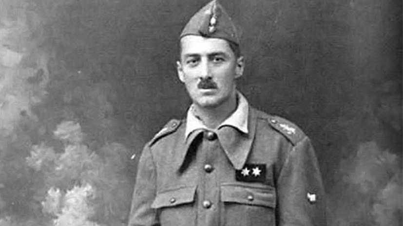 Генерал-майор Николай Всеволодович Шинкаренко в форме лейтенанта Испанской армии