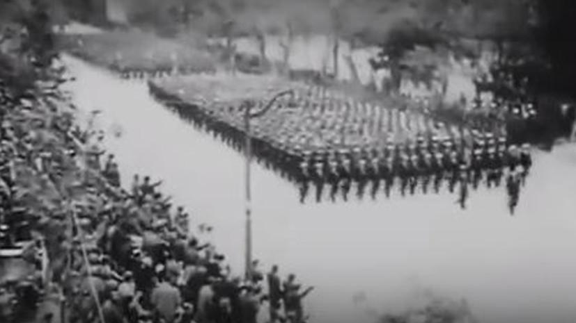 Парад Победы в Валенсии, 1939 год