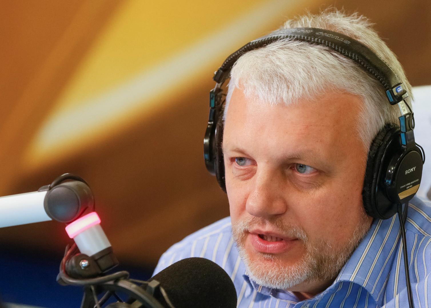 Павел Шеремет, российский, белорусский и украинский тележурналист. Погиб 20 июля 2016 года в результате взрыва автомобиля в центре Киева.