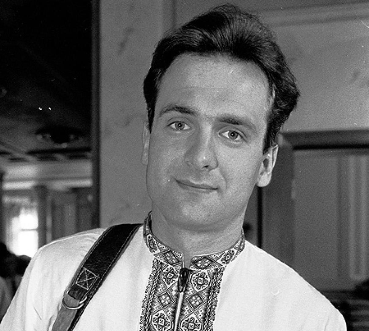 Украинский журналист Геогрий Гонгадзе, убитый в 2000 году. Фото из архива.