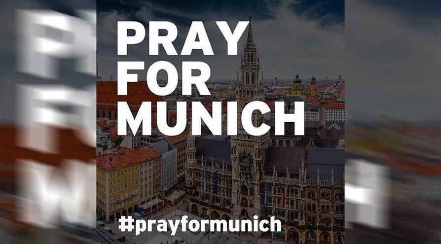 #PrayForMunich: реакция социальных сетей на стрельбу в Мюнхене