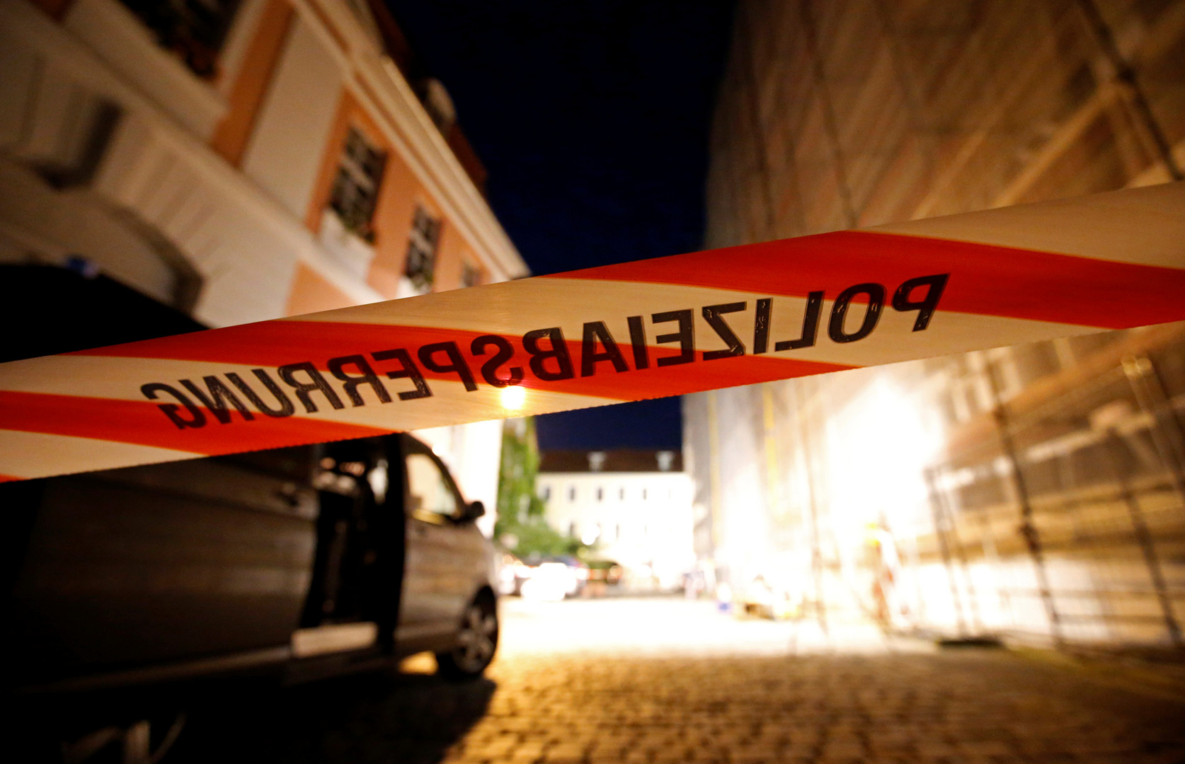 «Бомба, спрятанная в рюкзаке»: очевидец событий в Ансбахе рассказал RT подробности