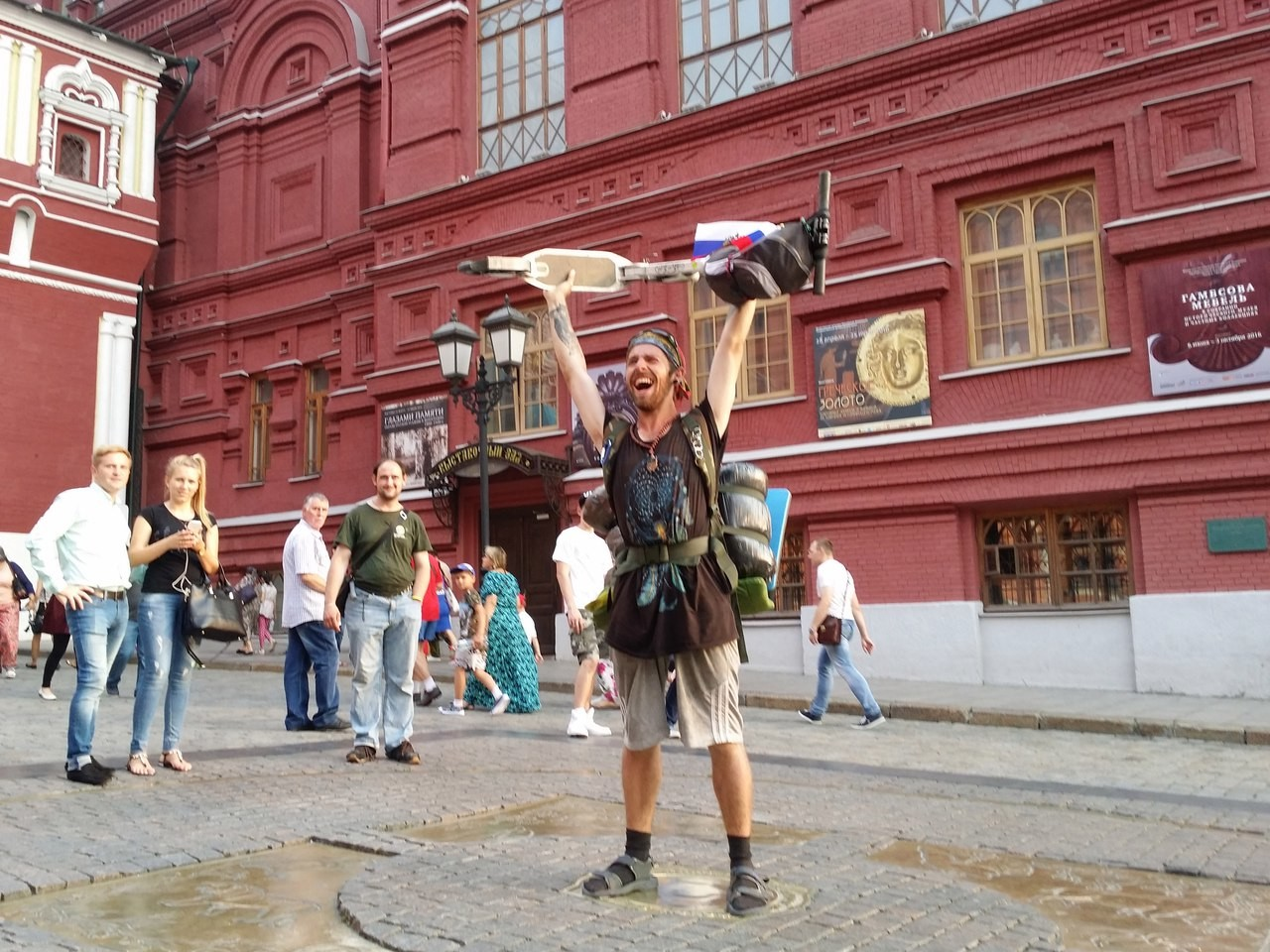 На самокате от Питера до Москвы и другие необычные путешествия россиян