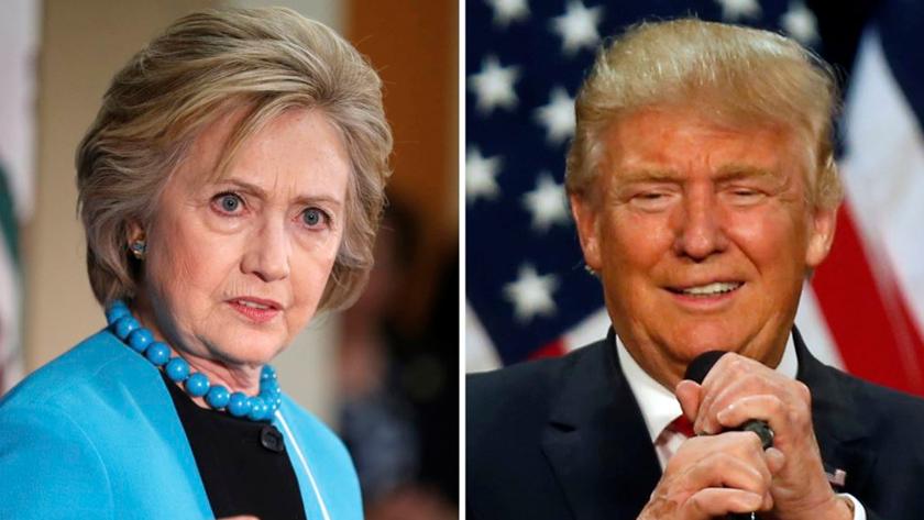 Закадычные враги: так ли уж ненавидят друг друга Клинтон и Трамп?