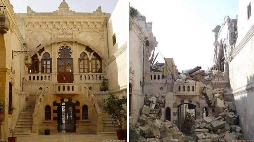 Город на руинах: Алеппо до и после атак террористов