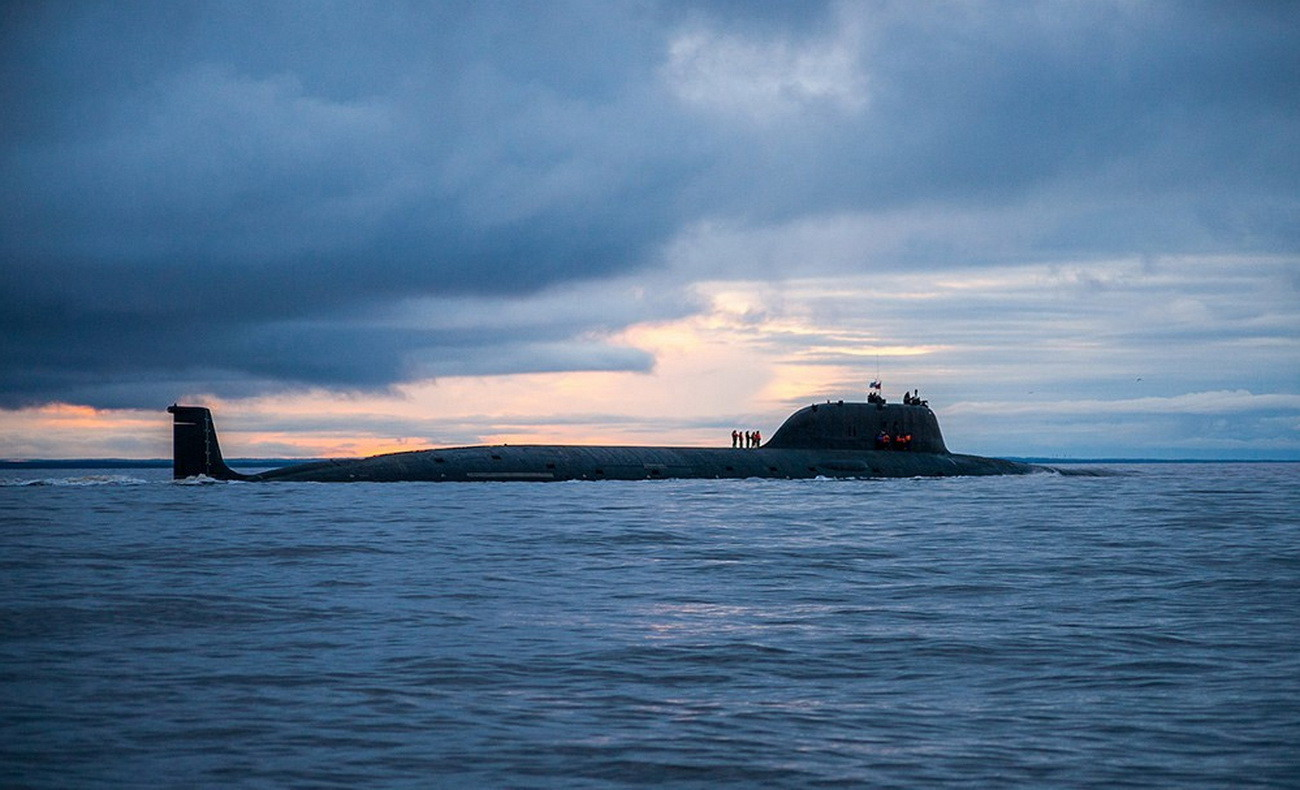 Атомная подводная лодка «Северодвинск»